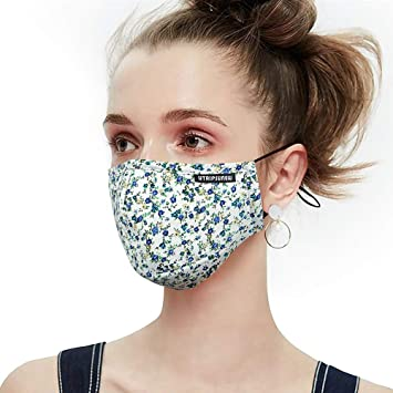 Adjust Anti-Dust Cotton Mouth Mask Respirator Face Cover Nose Breather Reusable