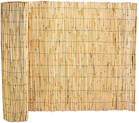 Rollo de Vallado de Caña de Bambú Valla Panel para Jardín, de Madera al aire libre por Papillon: Amazon.es: Jardín