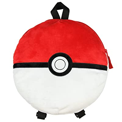 "Pokemon 12"" Pokeball Plush Backpack: Toys & Games"