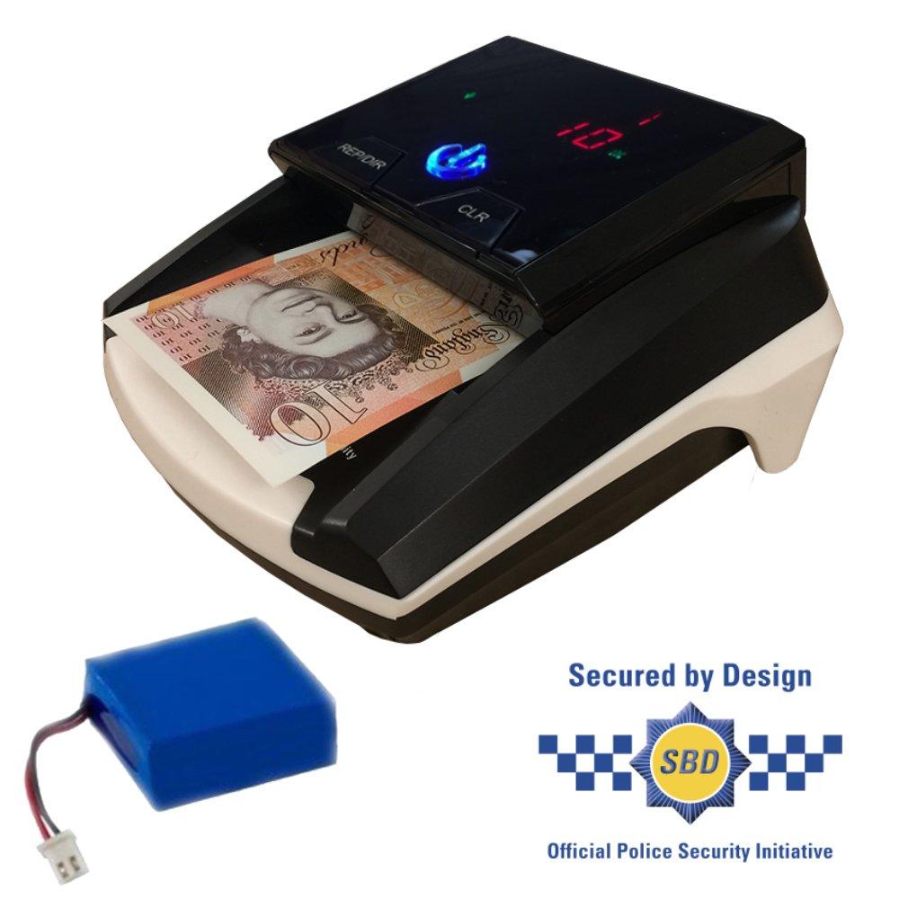 Compact Pro Nch026 Police – avec un certificat automatique détecteur de devises - Plastique - bleu - NCH026 Rechargable