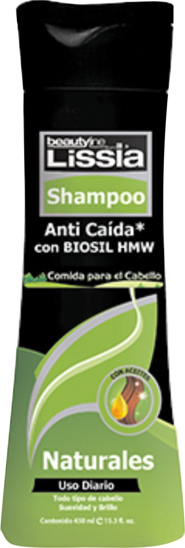 Amazon.com : Lissia Shampoo Biosil HMW Comida Para El Cabello 14.5 oz : Beauty