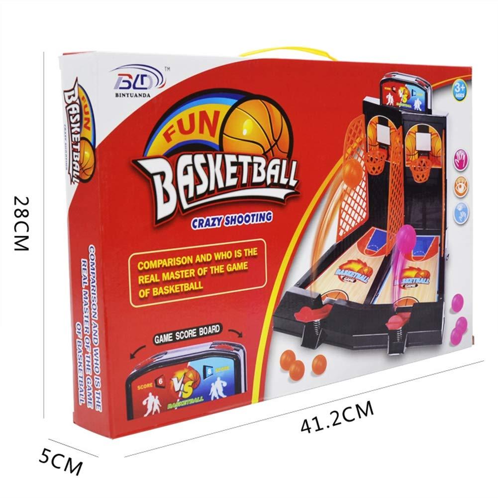 SLONG Doble Dedo eyección Baloncesto Juego Consola ...