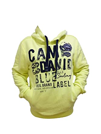 classic shoes running shoes buy Camp David Sweatshirt with Hood Seamanship NEON Lime CCB ...