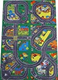 Giant USA Highway & Airport Playmat (60x40in) - hard wearing rubber backed surface