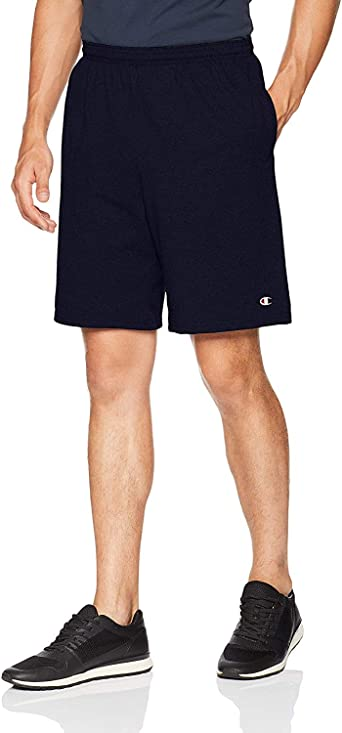 Champion Authentic Cotton 9-Inch Men/'s Shorts with Pockets