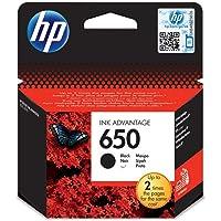 HP 650 Siyah Mürekkep Kartuş 360 Sayfa (CZ101AE)