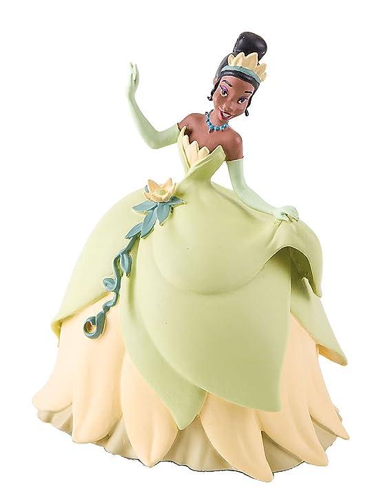 Amazon.com: Bullyland Princess Tiana Action Figure: Toys & Games