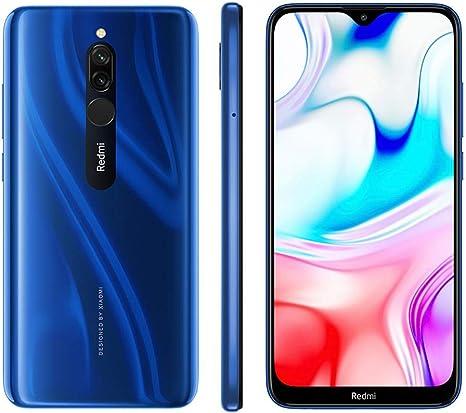 Xiaomi Redmi 8 4G 64GB 4GB RAM Dual-SIM Blue EU: Xiaomi: Amazon.es: Electrónica