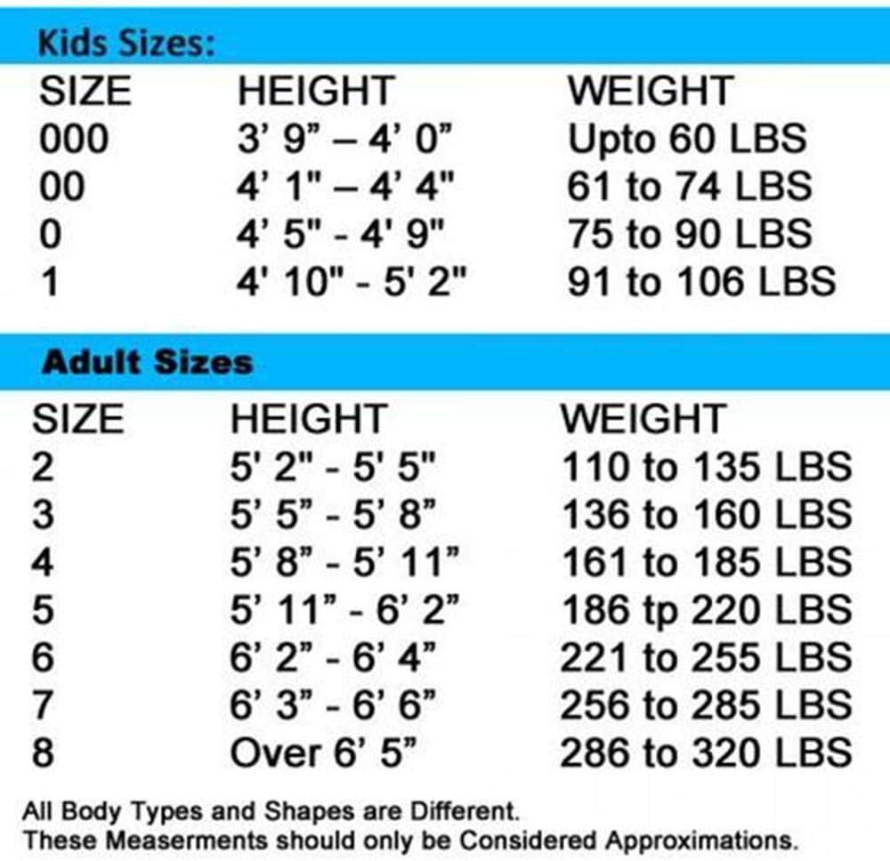 Light Weight Kids Adults Karate Gi PFG Karate Uniform