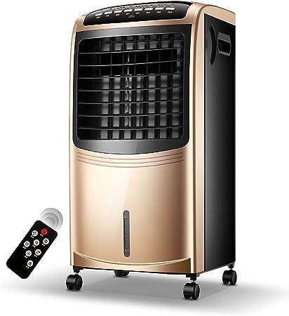 SANDM Portátil Mando a Distancia LCD Aire Acondicionado portátil, Enfriador de Aire con deshumidificador Ventilador de Aire Acondicionado con 4 Ruedas universales-Dorado: Amazon.es: Hogar
