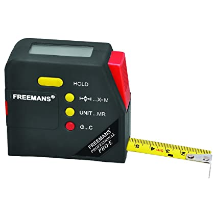 FREEMANS Digital Measuring Tape (5 m, 19 mm)