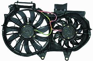 Engine Cooling Fan Assembly - Cooling Direct For/Fit AU3115107 02-05 Audi A4/S4 1.8L 05-08 GEN 3 / RS4 2.0L 03-06 Cabriolet 1.8L 07-09 Cabriolet 2.0L