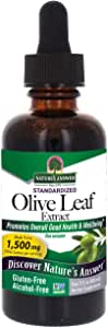 Nature's Answer Oleopein Olive Leaf, Promotes Overall Good Health and Well Being* Alcohol-Free, Gluten-Free & Kosher 2oz