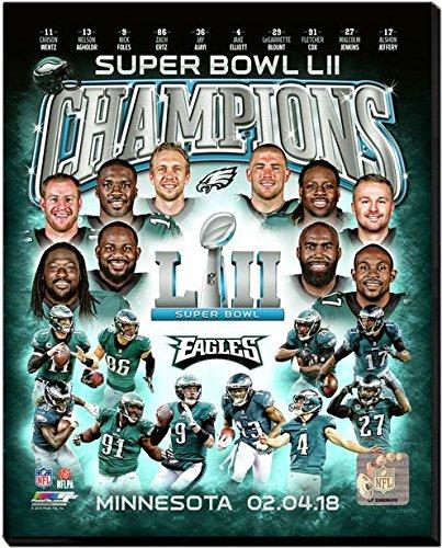 Bowl Stretched Canvas - Philadelphia Eagles Super Bowl LII Champions Stretched Canvas Photo 16