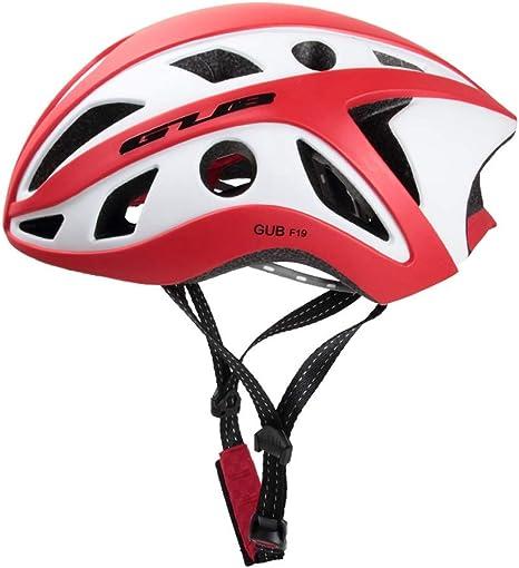 Protección Bicicleta de Carretera Bicicleta de montaña Equipo de equitación Casco de Bicicleta Integrado (Color : B, Size : Head Circumference:57-61cm): Amazon.es: Deportes y aire libre