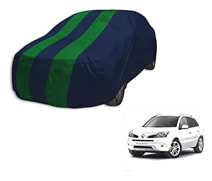Autyle Water Resistant Car Cover For Renault Koleos Navy Green