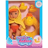 Just Play Waterbabies Bath Time Fun Duckie Baby Doll