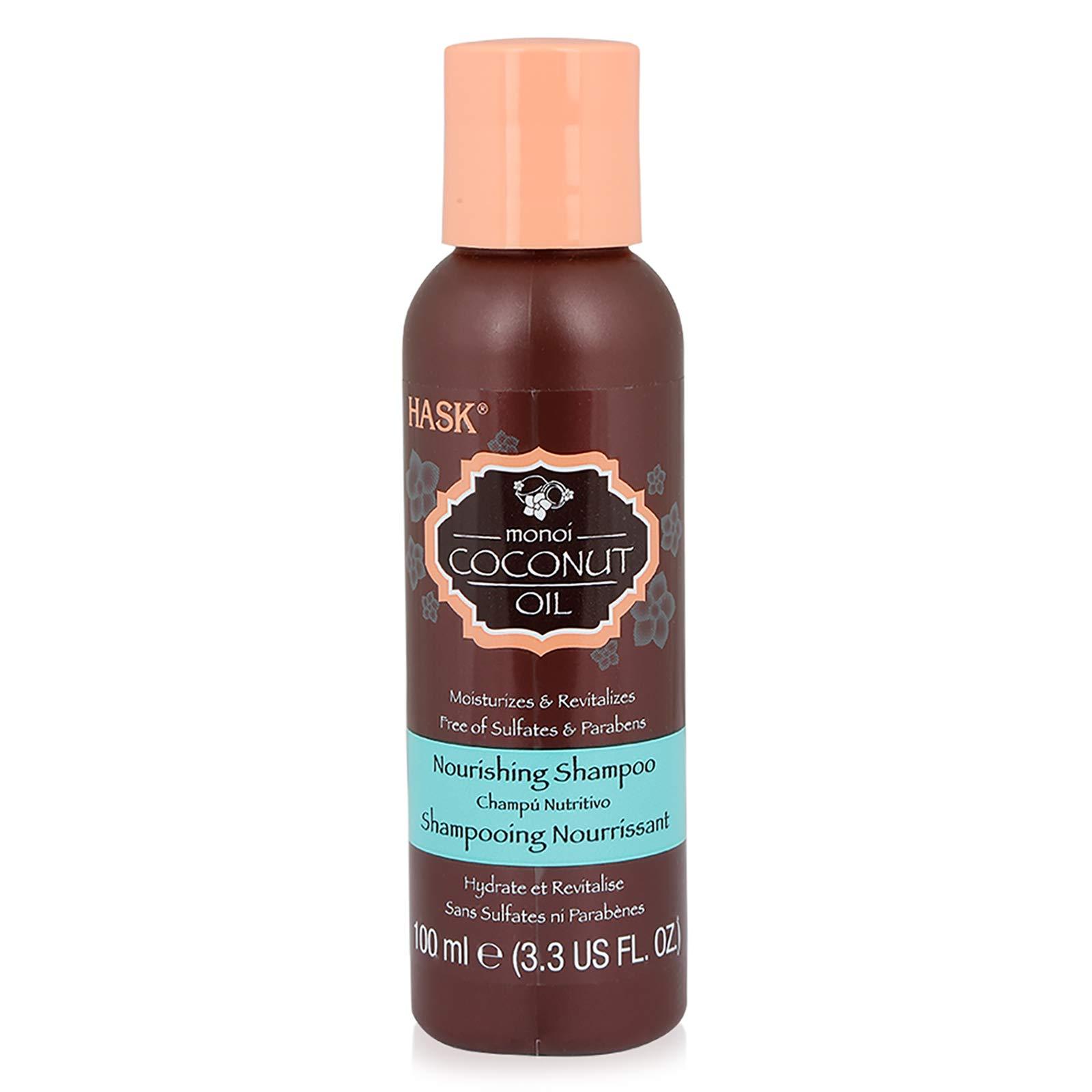 HASK Monoi Coconut Oil Nourishing Shampoo & Conditioner Set 3.3oz
