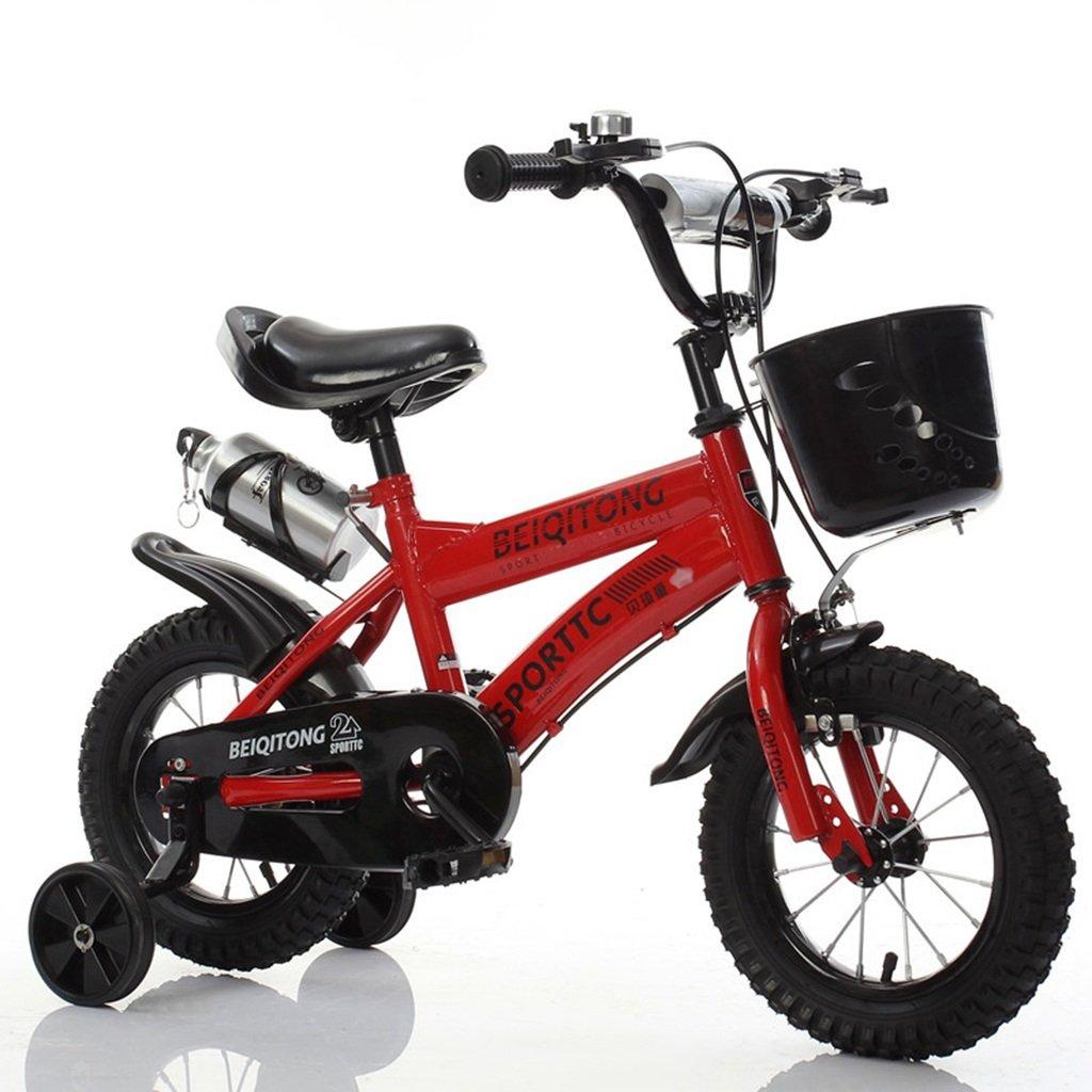 ベビー自転車、男の子自転車の少女自転車の自転車自転車の自転車の自転車の自転車ホイールDiameter30-42CM (色 : 赤, サイズ さいず : 115CM) B07D2FNGX1 115CM|赤 赤 115CM