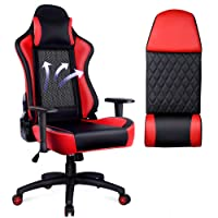 Deals on OUTON Gaming Chair PU Leather Desk Office Chair