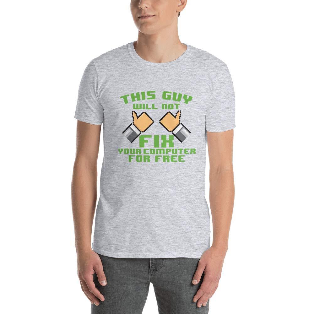 This Is Just Genius Computer Repair Short Sleeve Unisex T Shirt M55