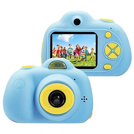 f1cad0d49f Immagine non disponibile per. Colore: ToyZoom 1080P HD Bambini Fotocamera  Digitale Selfie Macchina Fotografica 8MP Videocamera con Zoom 4X, LCD