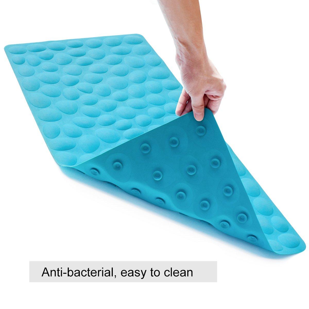 Othway Non Slip Bathtub Mat Soft Rubber Bathroom Bathmat