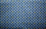 Car Print Navy Colour 100% Cotton Fabric **FREE UK POST** Kids Children Nursery Early Learning Fun Craft Small Cars Boys Fabric Zoom Bunting Bed Sheet Cover Quilting Material Patchwork (Sample (10cm x 10cm))