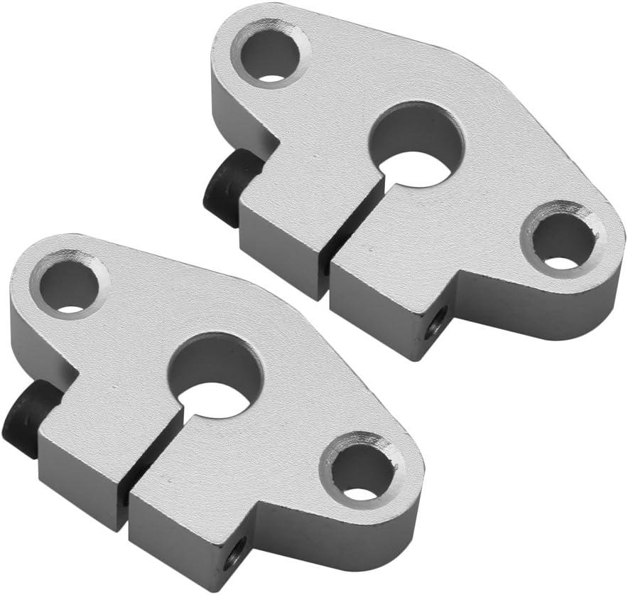 RDEXP 2 piezas SHF8 soporte lineal, eje, soporte de barra para ...