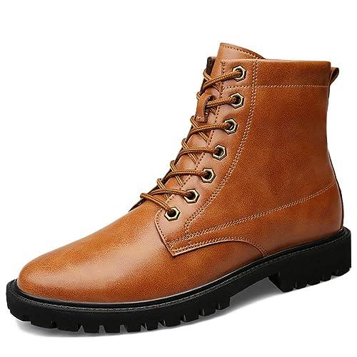 WDYY High Help Martin Botas Botines De Desierto para Hombres,Brown-50: Amazon.es: Zapatos y complementos