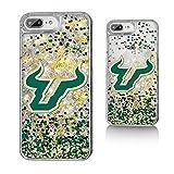 Keyscaper University of South Florida Confetti Gold Glitter iPhone 6+/7+/8+ Case NCAA