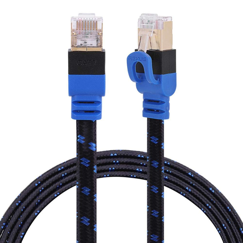Value-5-Star CAT7E Ethernet Cables 0.5M 1M 2M 3M 5M10M 15M 20M Durable Internet Network RJ45 Patch LAN Flat Cable Cord For Computer Laptop