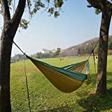 Camping-HammockLionet-Double-Parachute-Lightweight-Portable-Hammock-For-Backpacking-Camping-Travel-YardBeach118L-x-78W-3-YEAR-WARRANTY