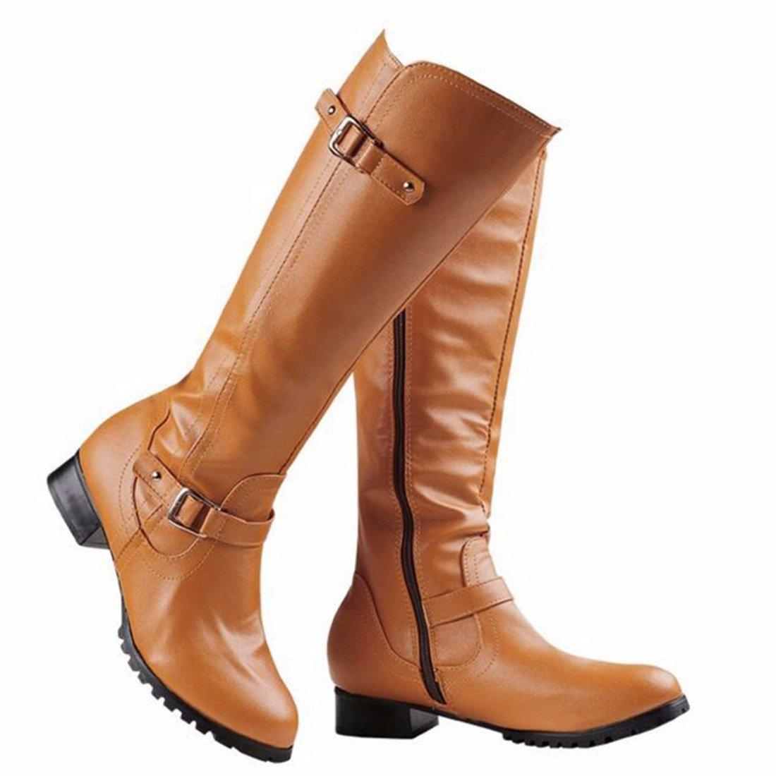L'automne et l'hiver long de la mode européenne et américaine bottes femmes RFF-Women's Shoes