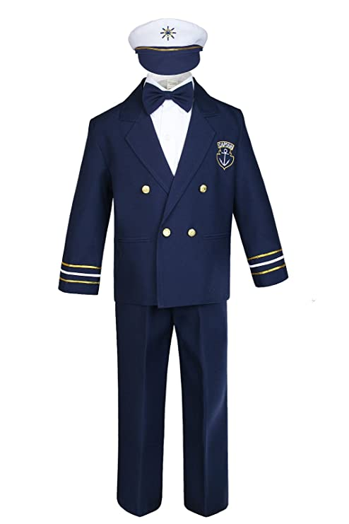 3b6a817ea Unotux Sailor Captain Suit for Boy Outfits from New Born to 7 Years Old