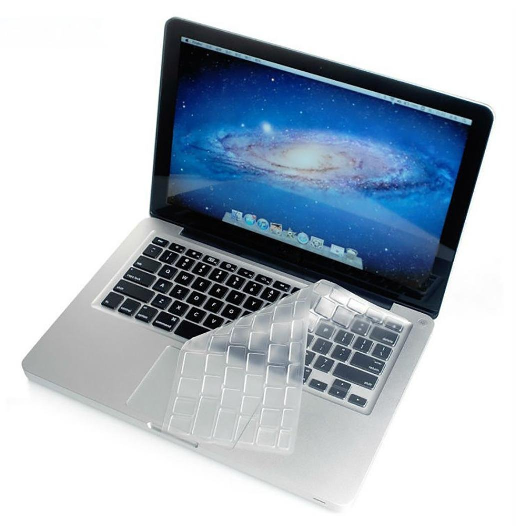 Keyboard Cover, Iuhan Silicone Thin Clear Keyboard Cover Skin for MacBook Air 13' MacBook Pro 13' 15' 17' Iuhan Silicone Thin Clear Keyboard Cover Skin for MacBook Air 13 MacBook Pro 13 15 17 Iuhan ®