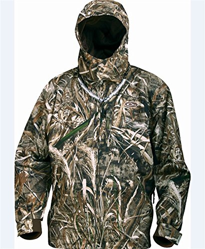 Drake EST Heat-Escape Waterproof Full Zip Hunting Jacket (Realtree Max-5) (Men's Small)