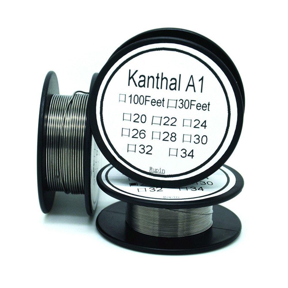 Kanthal A1 20 Gauge Widerstand Draht AWG 30 ft: Amazon.de: Elektronik