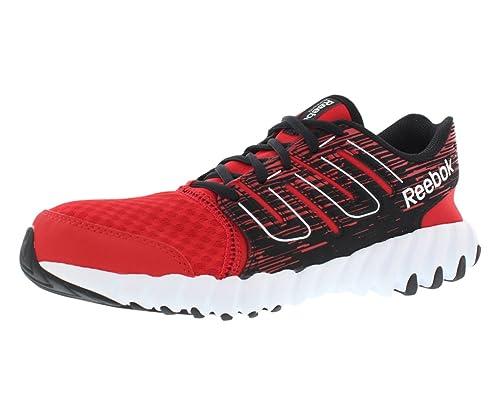 b49803b5cf16 Reebok Twist Running Boy s Shoes Size 5 Red Black White