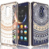 zte imperial 2 cases - ZTE Grand X Max 2 Case, ZTE Imperial Max Case For Girls, Tekcoo [TFlower] Transparent Cute Lovely Adorable Clear Hard TPU Skin Scratch-Proof Bumper Cover Cases For ZTE Max Dual Pro / Kirk -Rose Gold