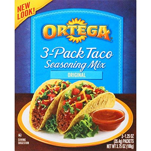 Ortega Seasoning Mix, Taco Seasoning, 3 (Ortega Taco Dinner)