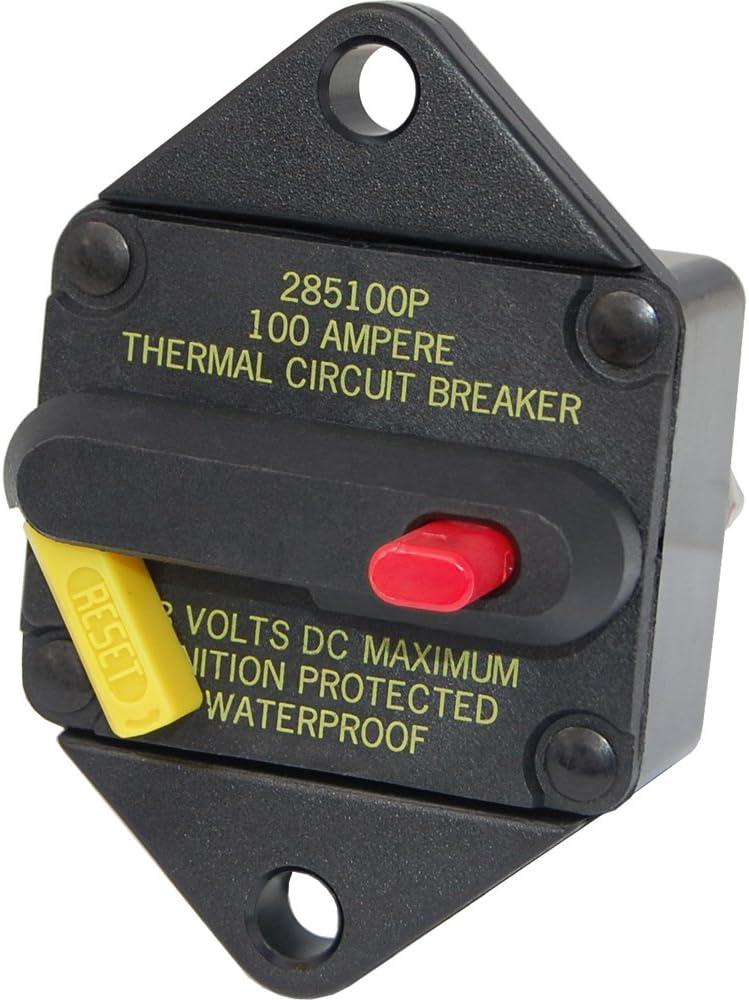 Blue Sea 7084 60 Amp Circuit Breaker Panel Mount 285 Series