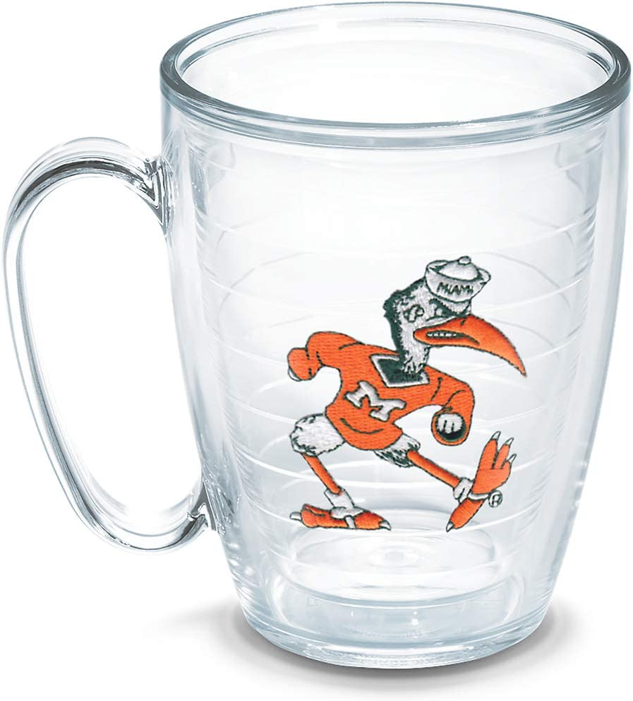 Tervis University Of Miami 15-Ounce Mug Vault 1050441 Boxed