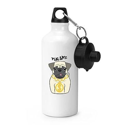 Pug Life Dog Bouteille de sport