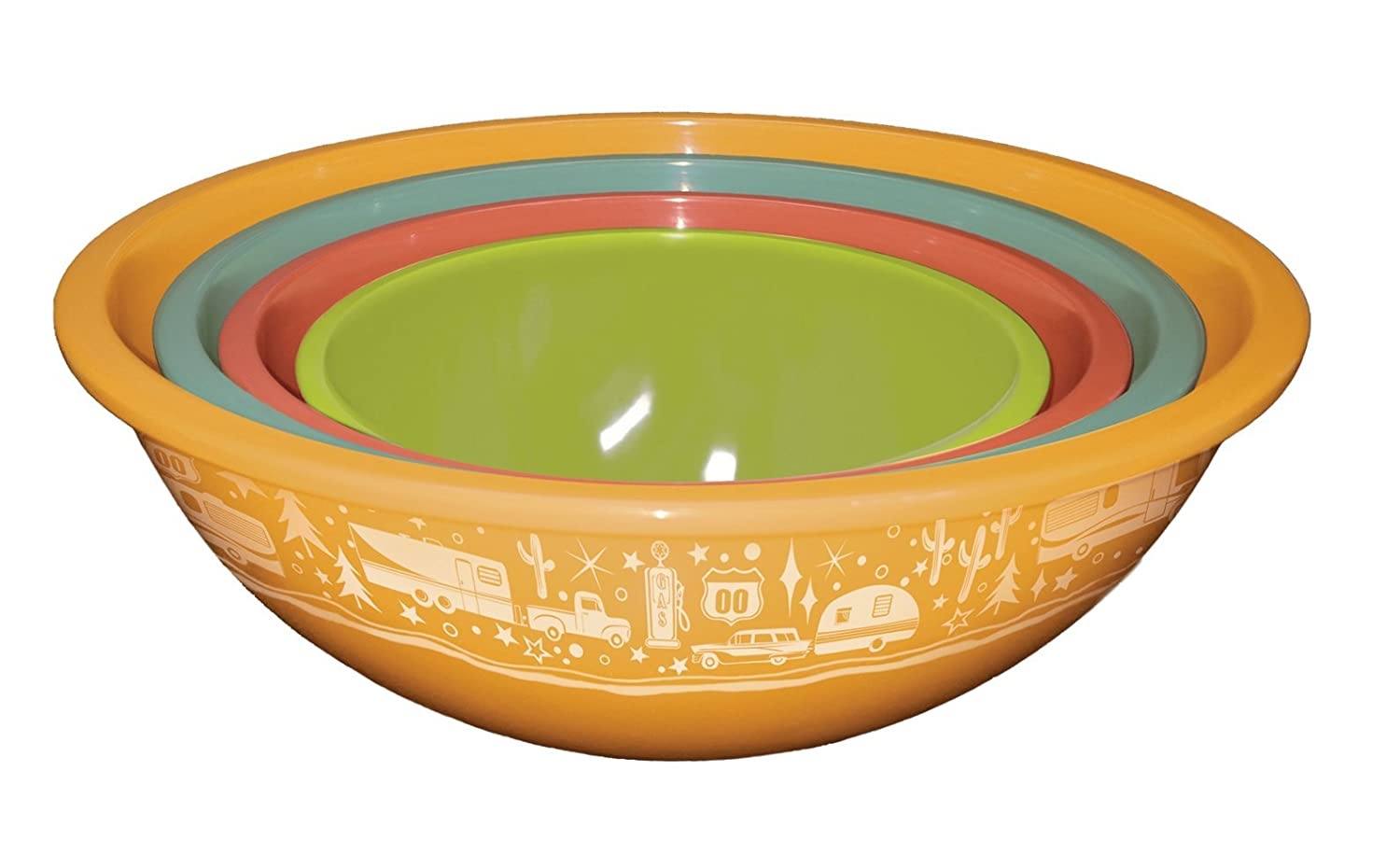 Camp Casual Nesting Bowl Set made our list of camper gifts that make perfect RV gifts which are unique gifts for RV owners