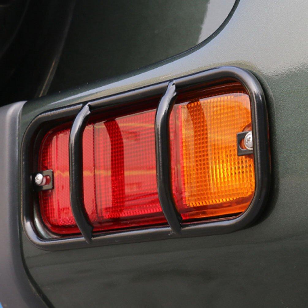 jcsportline Nebelschlussleuchte Blinker Lichter Wachen Cover f/ür Suzuki Jimny 07 15/Schwarz