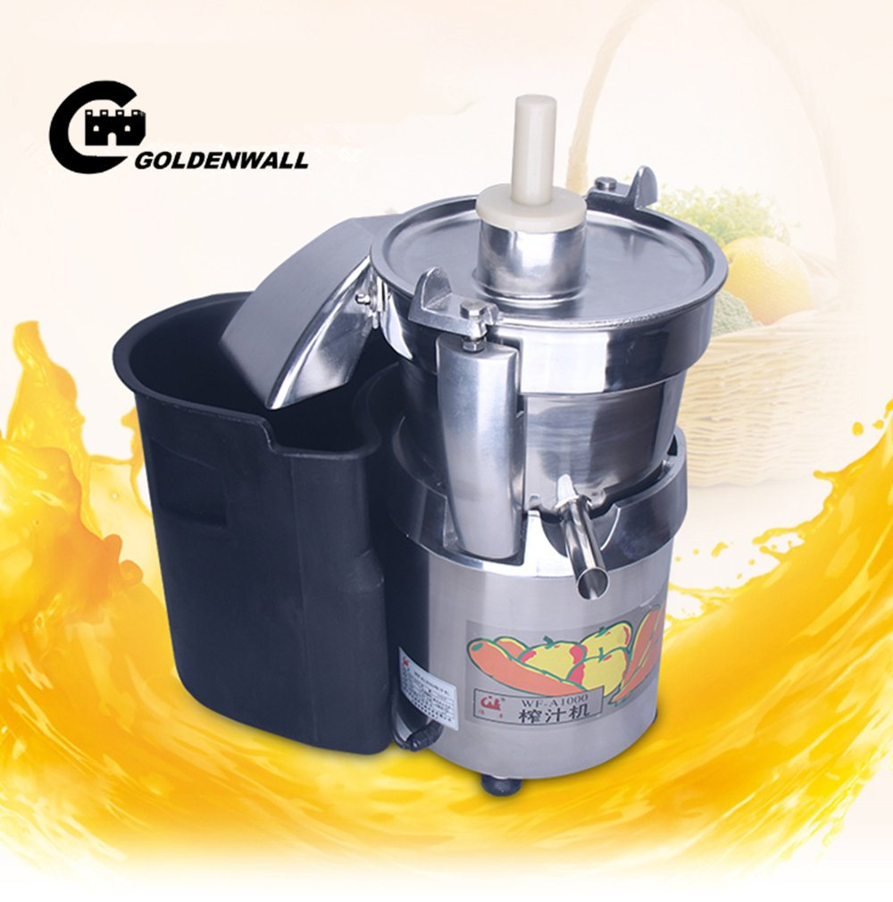 WF-A1000 Commercial large caliber Juice Extractor full stainless steel Juicer Juice machine Juicing machine Centrifugal Juicer Fruit and Vegetable juicer juice squeezer 750W 2800r/min 120-140kg/h by CGOLDENWALL (Image #2)