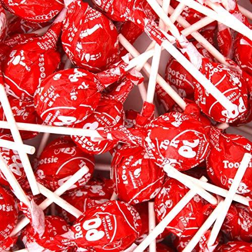 Flavored Koi Treat - Cherry Tootsie Pops 60 pops