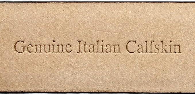 Golden Spring Diamond Italian Calfskin Leather Designer Dress Belts for Men