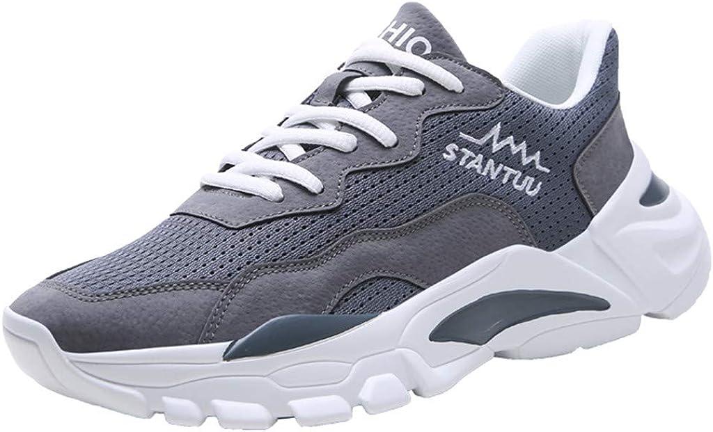Darringls Zapatos de Hombre,Zapatillas para deported de Hombre Deporte Planas de Malla Transpirable Zapatos Casuales de Zapatos de Malla Aire Libre para Hombre 39-44 séptimo: Amazon.es: Ropa y accesorios